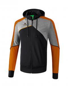 Black-Grey Melange-Neon Orange
