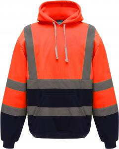 Hi Vis Orange-Navy